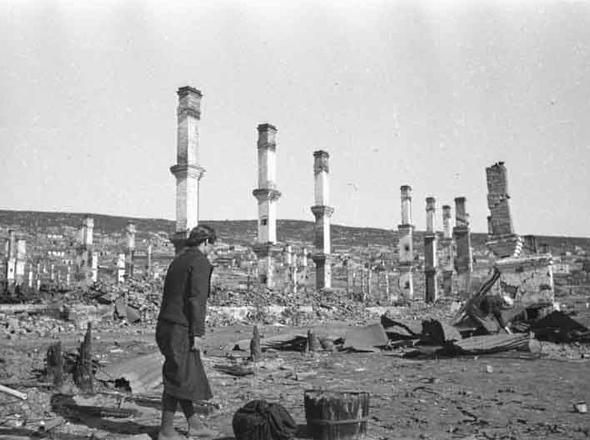 В музее можно будет увидеть Мурманск в пламени пожара