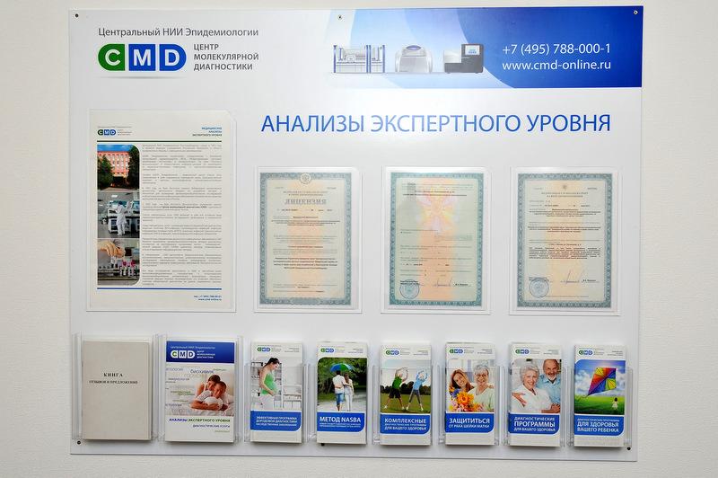 оао институт молекулярной диагностики